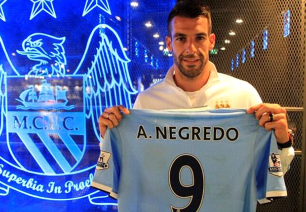 Negredo: I did not need much persuading to come to Manchester City