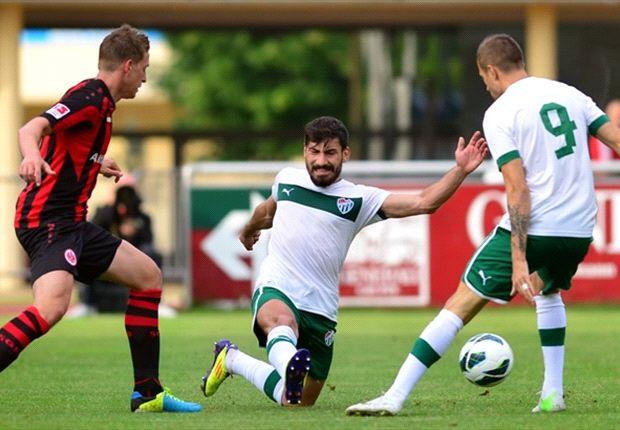 Eintracht Frankfurt war bereits gegen Bursaspopr erfolgreich