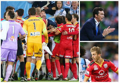 WATCH: Incredible half-time brawl