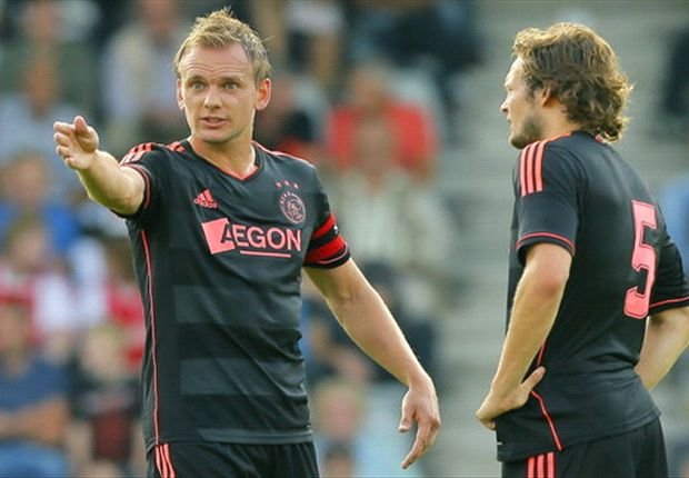 Siem de Jong mit Daley Blind bei Ajax Amsterdam