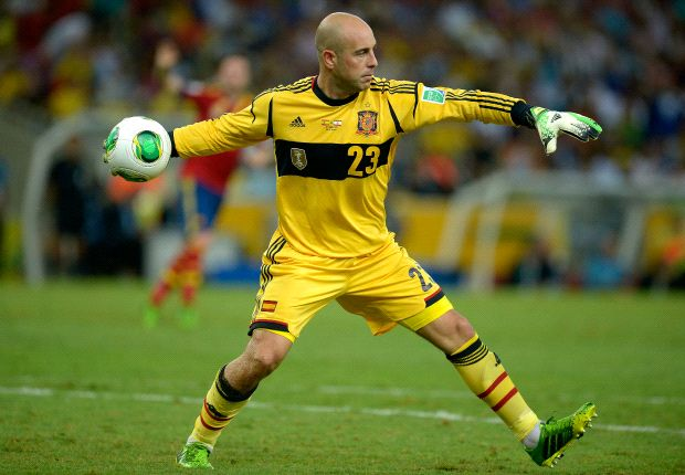 Reina's Liverpool career looks to have finally come to an end