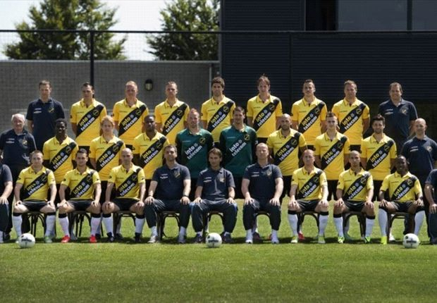 Nac Breda's official photo for the 2013-14 season