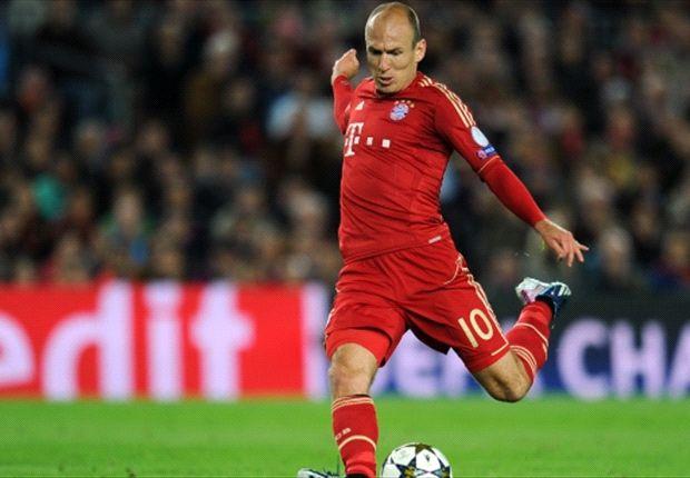 Robben yakin menangkan gelar.