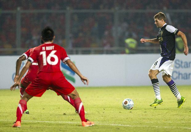 Steven Gerrard mengatakan bahwa Indonesia semakin tangguh