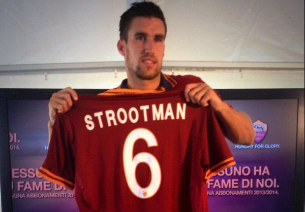 Strootman vows to improve after joining Roma