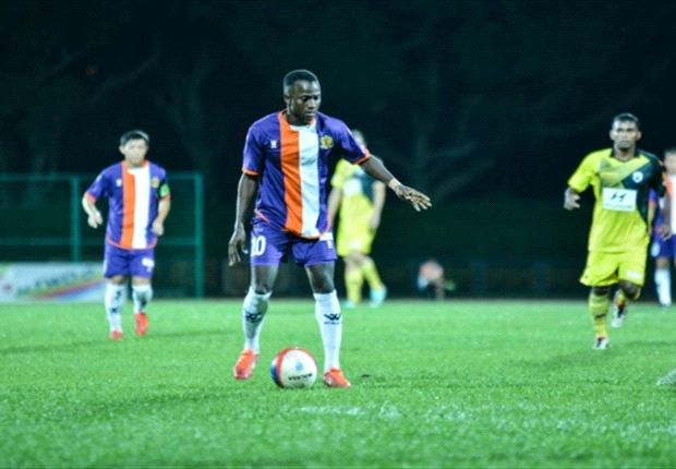 Guinean striker Mamadou Diallo has been featuring for Hougang United since 2008.