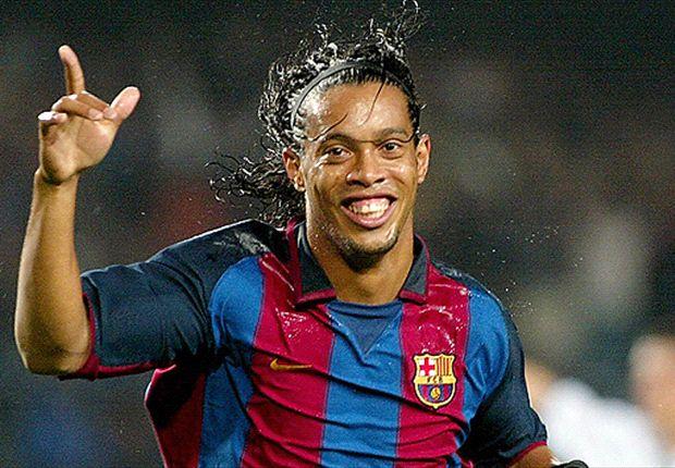 Ronaldinho causó furor en Barcelona desde el día en que fue presentado