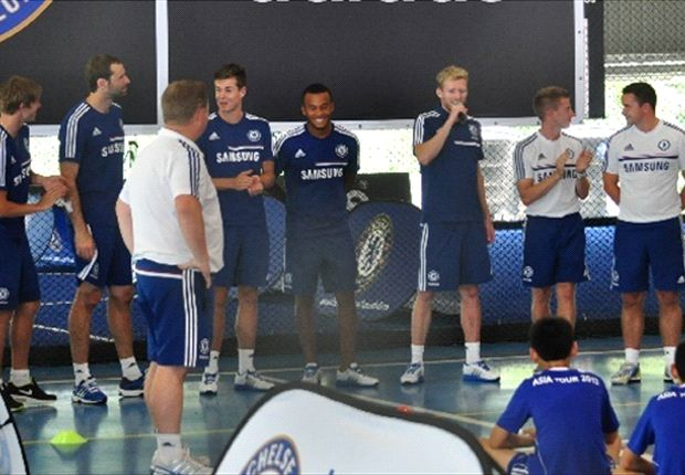Tomas Kalas and Ryan Bertrand were also in attendance.