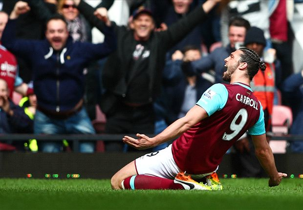 10 years summed up in 10 minutes as Carroll crushes Arsenal title hopes for good