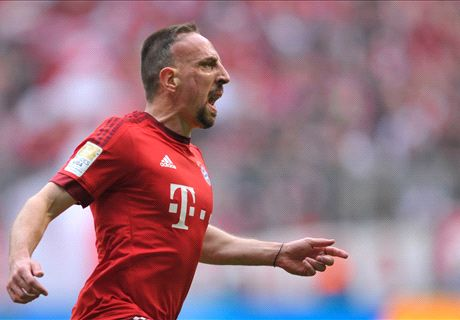 Ribery hits out at Guardiola