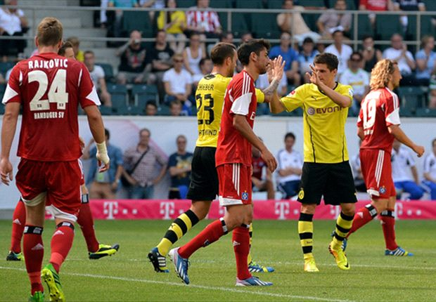 Borussia Dortmund 1-0 Hamburg: Klopp's men seal third place in Telekom Cup