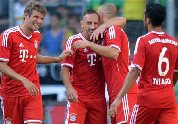 Jubel beim Telekom-Cup. Die Bayern kommende Saison ohne Konkurrenz?