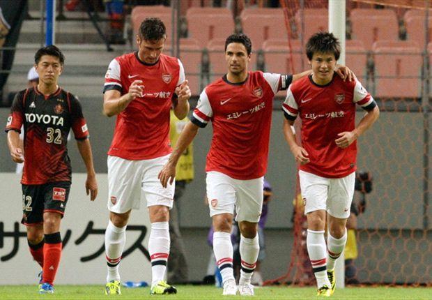 Arsenal boss Wenger lauds Miyaichi potential