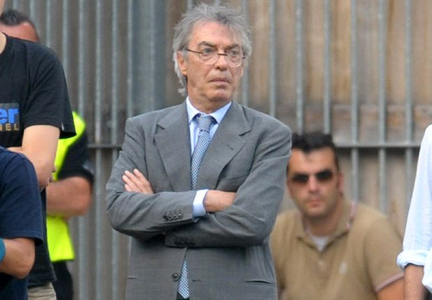 Referees are scared to give Inter a penalty, claims Moratti