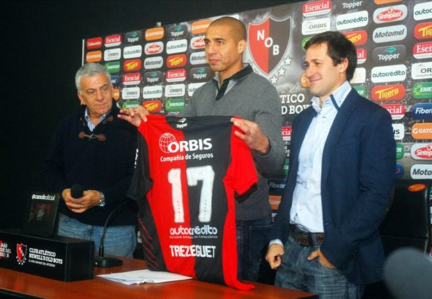 Official: Trezeguet joins Newell's Old Boys