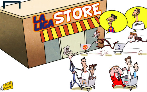 Premier League Cartoons Premier League Managers Shop