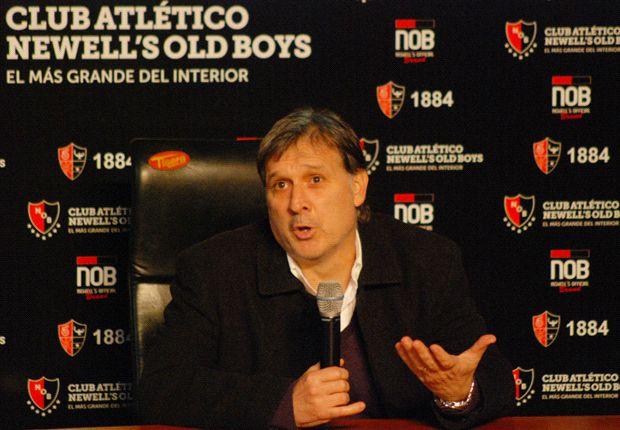 El entrenador argentino habló por primera vez como DT culé