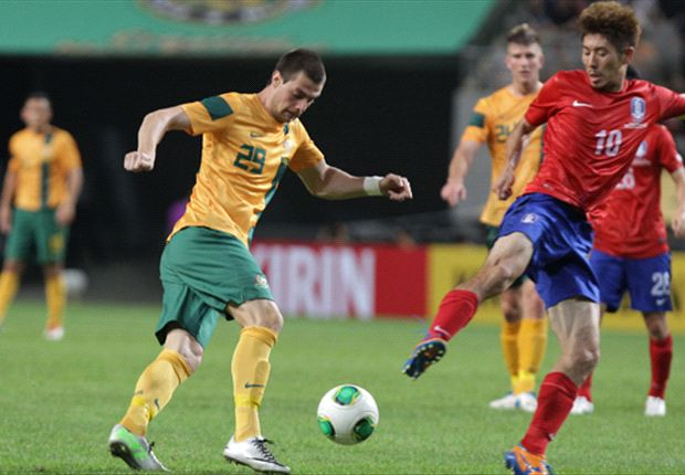 The newest Socceroo takes on Ha Dae-Sung