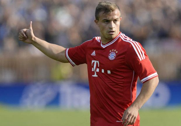 Shaqiri: Bayern on track for another 'super season'
