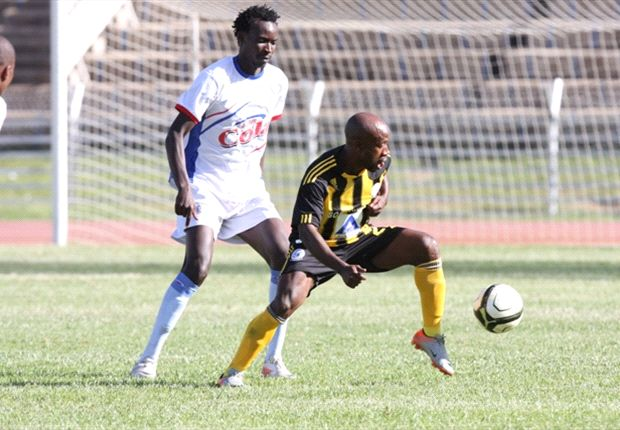 Azam midfielder Humphrey Mieno in action during a past friendly match.