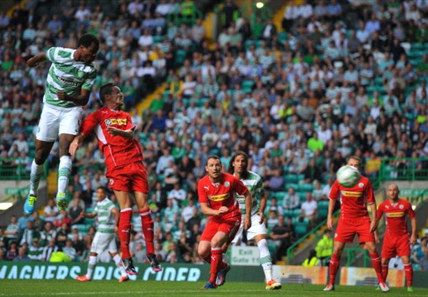 Efe Ambrose scores in Celtic's UCL win