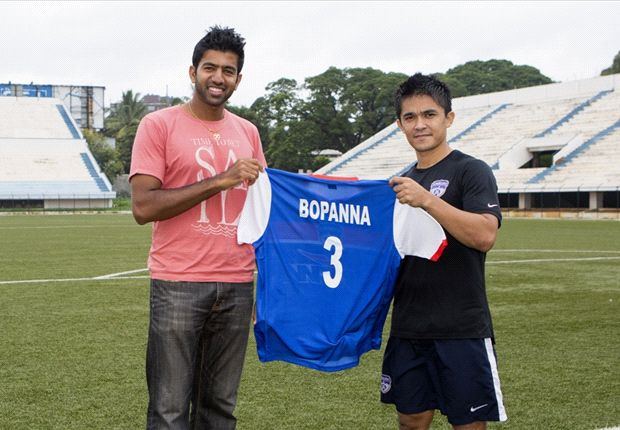 Extra Time: Tennis star Rohan Bopanna is a Bengaluru FC fan