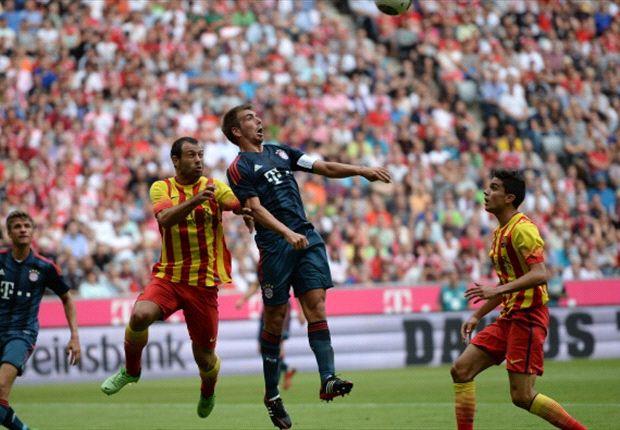 Bayern München heeft de Telekomcup gewonnen