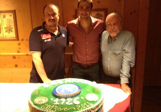 Rafa Benitez, Gonzalo Higuain dan Aurelio De Laurentiis