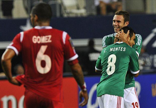Meksiko akan menjalani laga penentuan di partai Kualifikasi Piala Dunia 2014 zona Concacaf