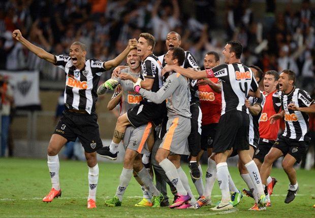 Atletico Mineiro 2-0 Olimpia (agg 2-2, pens 4-3): Leonardo Silva hands Brazilians Copa Libertadores glory