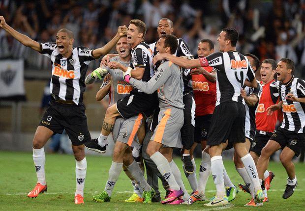 Atlético Mineiro festejó la obtención de su primera Copa Libertadores.