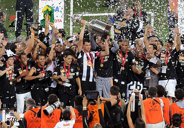 Ronaldinho completes career clean-sweep as Atletico Mineiro break Libertadores duck