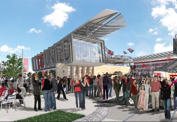 D.C. United announces plan for new stadium