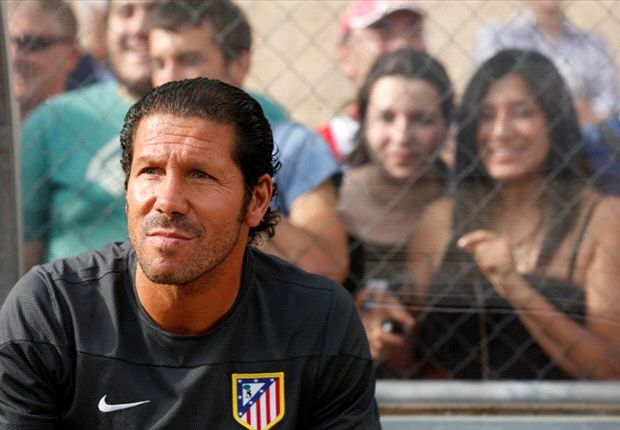 Simeone plays down Atletico's title chances