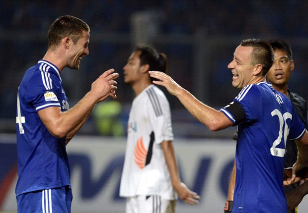 Cahill hoping for defensive partnership with Chelsea skipper Terry