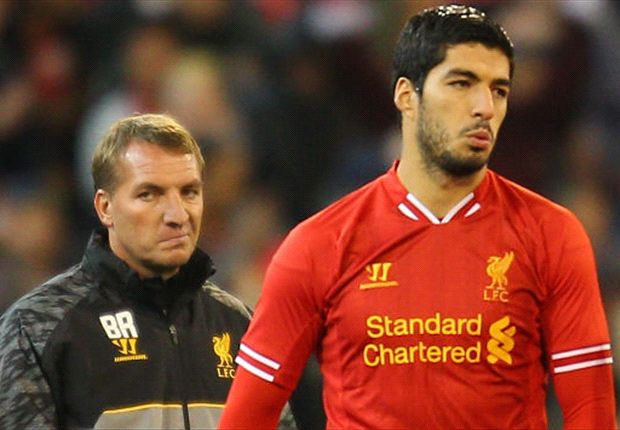 Suarez 'champing at the bit' to make Liverpool return, says Rodgers