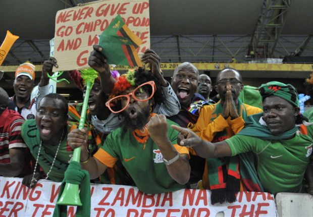 Zambia's supporters