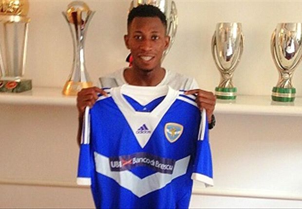 Nnamdi Oduamadi moves on loan to Brescia