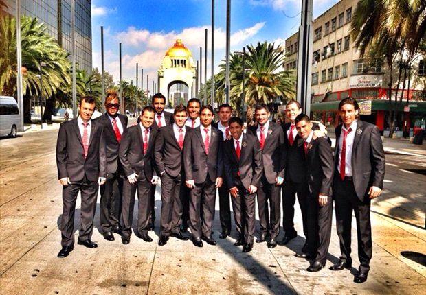 Xolos agradeció a Enrique Peña Nieto por recibirlos en Los Pinos