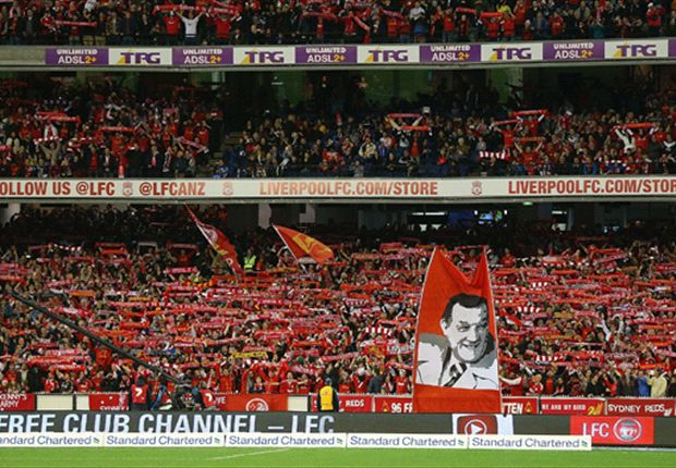 The kop down under takes centre stage