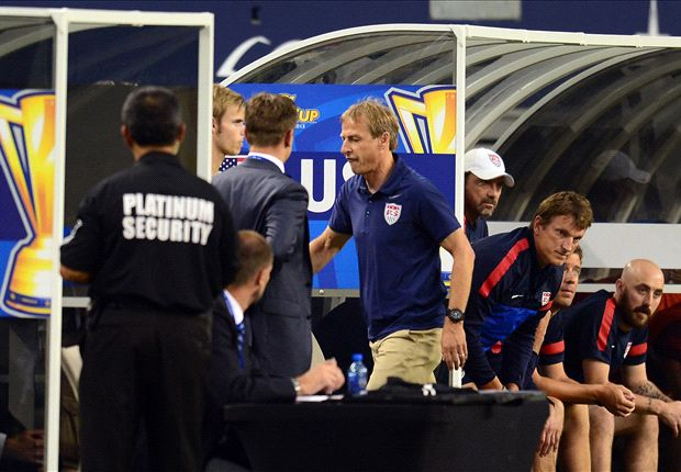 Jurgen Klinsmann suspended for Gold Cup final