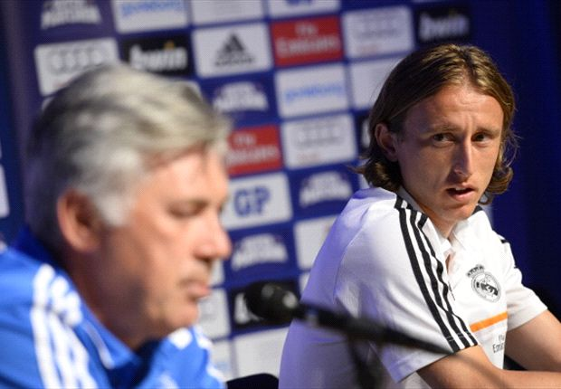 Ancelotti dismisses Modric exit talk