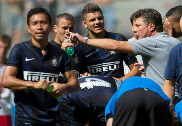 Mazzarri content with Inter 'growth'