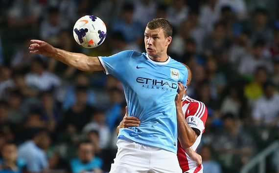 Dzeko wins it for Man City, Spurs romp & Bony impresses - pre-season round-up