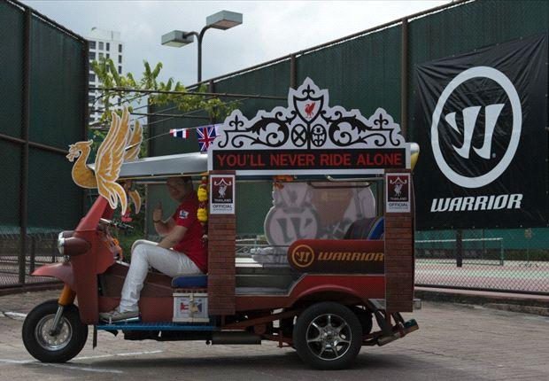 Liverpool FC Tuk Tuk gets players' approval