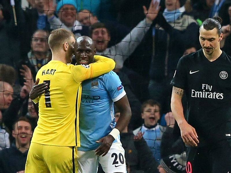 Mangala thanks former Premier League striker after Manchester City dumped PSG out of the Champions League