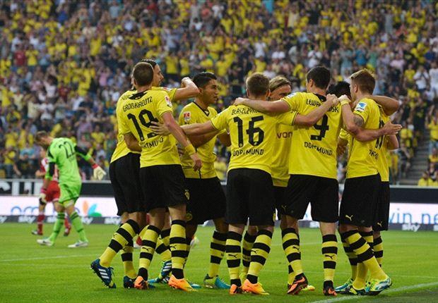 Die Mannschaft von Borussia Dortmund