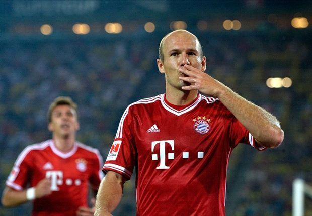 Robben: Bayern have no reason to panic