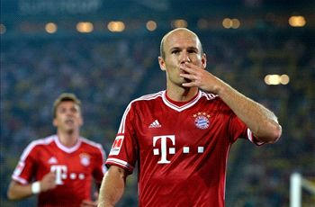 Robben: Bayern has no reason to panic
