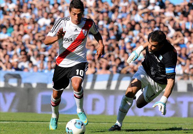 River recibirá a Racing en el estadio Monumental.